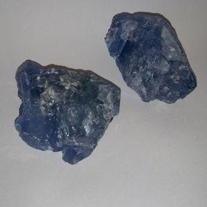 Raw fluorite chunks 1 pc